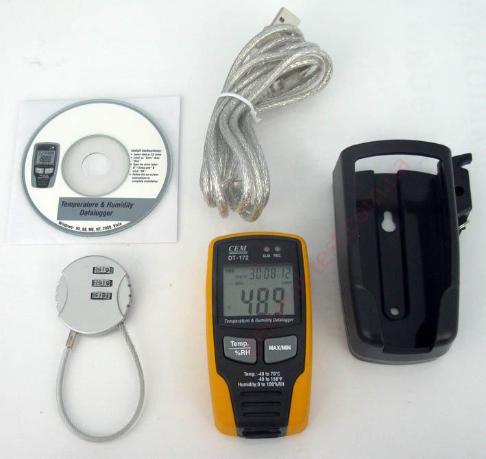 DT-172 регистратор температуры и влажности, комплектация