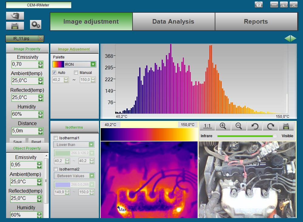 программное обеспечение для анализа термограмм