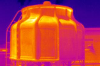 Визуализация температурного поля с помощью тепловизора