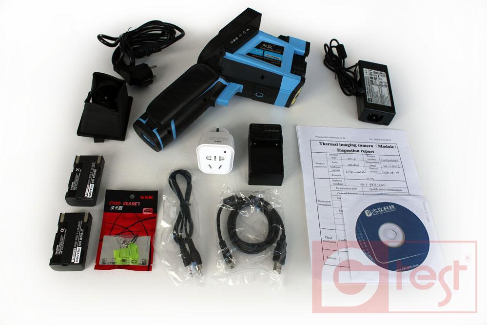 Комплект тепловизора для энергоаудита DALI LT7