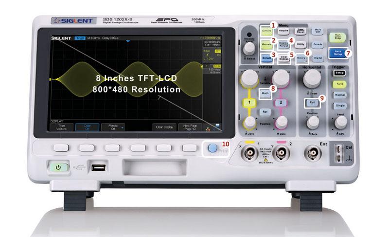 внешний вид осциллографа SDS1000x серии