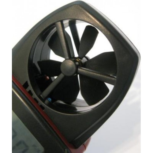 Вид крыльчатки анемометра ST8020, ST8021, ST8022