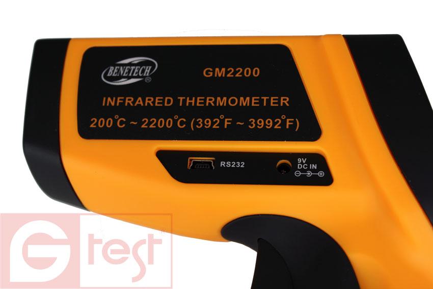 Высокотемпературный пирометр GM2200 Benetech